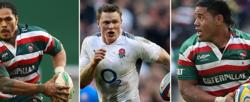 Alesana et Manu Tuilagi VS Chris Ashton