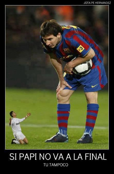 Ronaldo VS Messi Finale C1