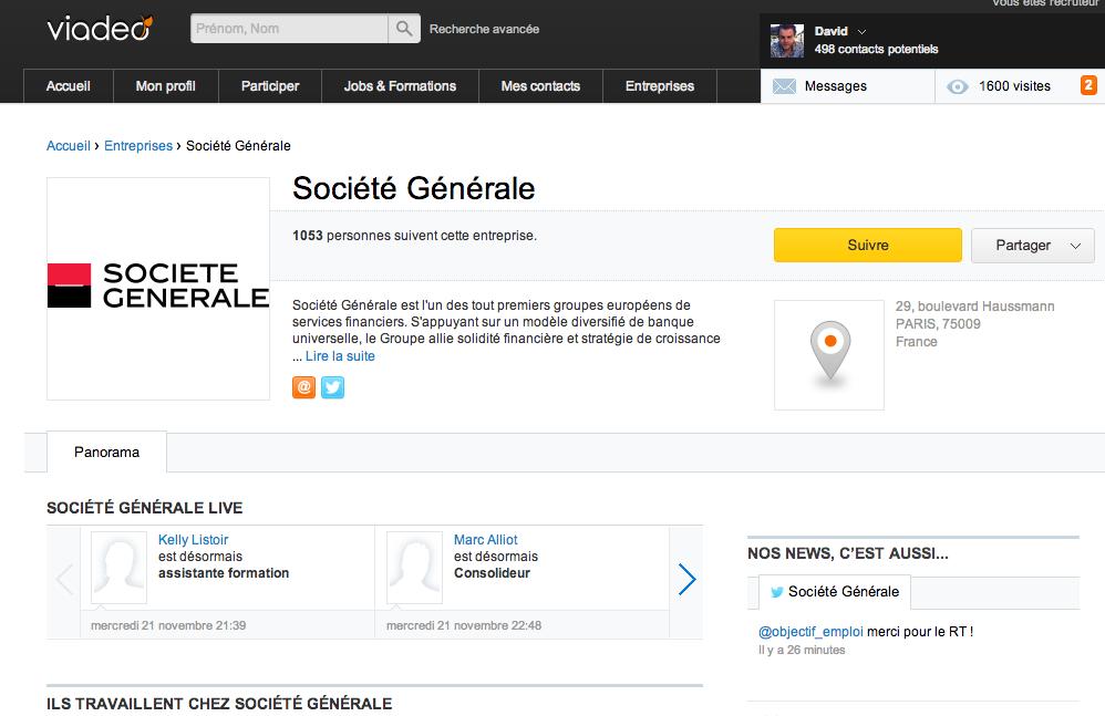 Societe-Generale-page-Viadeo